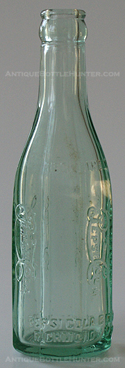RI 9, 1920's 6-1/2 OZS. 8 SIDED PEPSI:COLA FROM RICHMOND, VA.