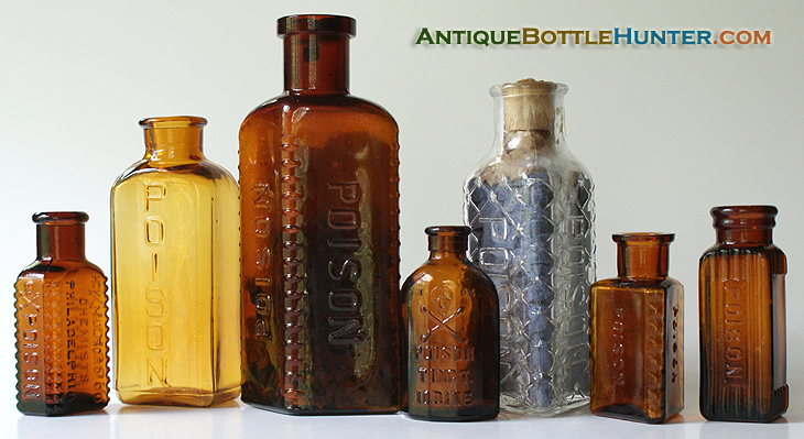 A group photo of recent finds --- Antiquebottlehunter.com