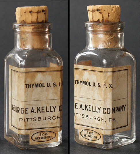 how to clean old bottles with labels