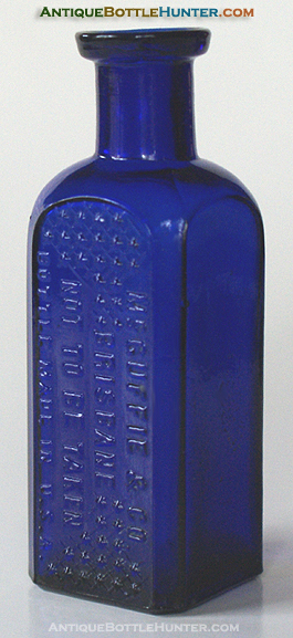 McGUFFIE & CO. / BRISBANE / NOT TO BE TAKEN / BOTTLE MADE IN U.S.A. --- Antiquebottlehunter.com