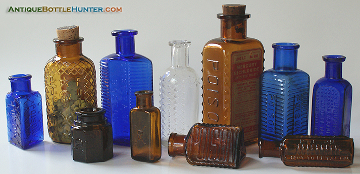 Another group photo of recent finds --- Antiquebottlehunter.com